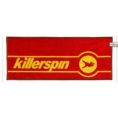 Table Tennis Tournament Towel in Red