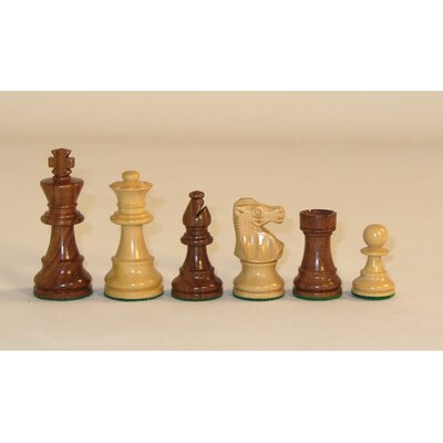 Checkmate Small Sheesham Lardy Chessmen