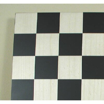 "Ferrer 17"" Basic Chess Board in Black / Maple"