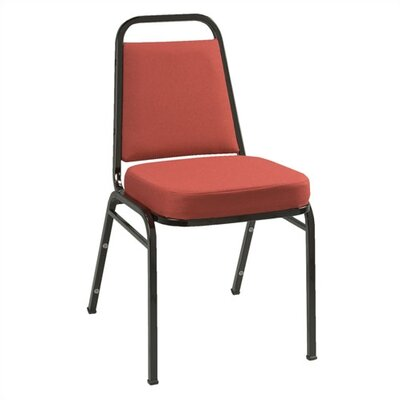 KFI Seating IM Series Fabric Stacking Chair with Rectangular Back