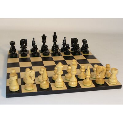 WorldWise Chess Black Russian Chess Set