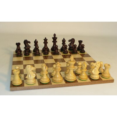 Walnut Stained Exclusive on Walnut Chess Board