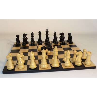 Ebony Imperial Chess Set
