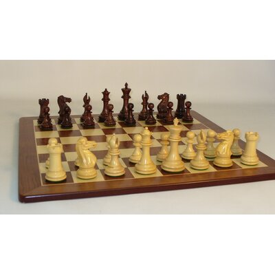 Rosewood Exclusive on Padauk Chess Board