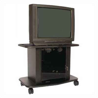 Avteq Acero 32&quot; Tall Single Platform Cart  for 36&quot; TVs