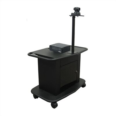 "Avteq Rolling 32"" Tall Projector and Video Conferencing Cart"