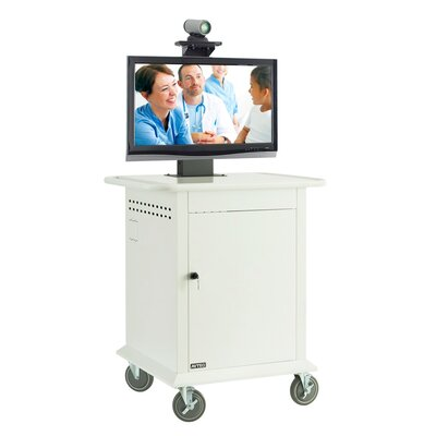 "Avteq Medical Video Conferencing Stand for 42"" Monitor"