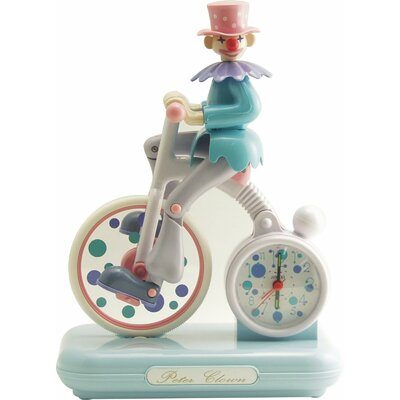 Peter Clown Alarm Clock