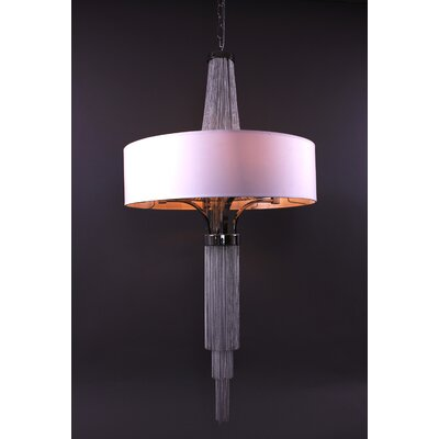 Control Brand The Taylor 4 Light Drum Chandelier