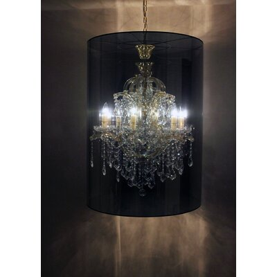 Megan 6 Light Drum Chandelier