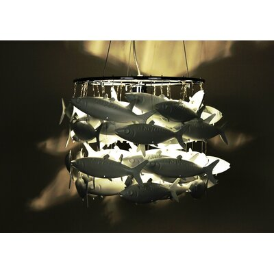 Control Brand School of Fish 1 Light Pendant