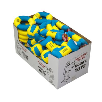 Pyara Paws Water Dog Toy (Set of 6)