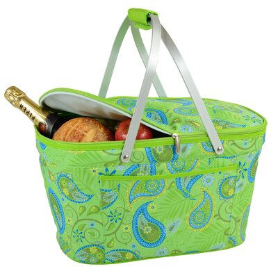 Paisley Collapsible Insulated Basket