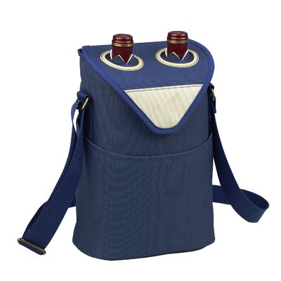 Picnic At Ascot Aegean Two Bottle Carrier