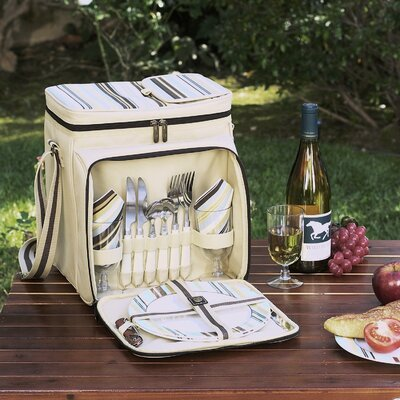 Santa Cruz Picnic Cooler for Two