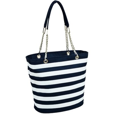 Picnic At Ascot Stripe Tote Cooler
