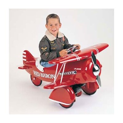 Airflow Collectibles Red Baron Pedal Airplane