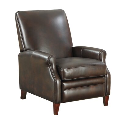 At Home Designs Cosmopolitan Leather Club Recliner