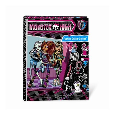 Fashion Angels Monster High Fashion Sticker Stylist