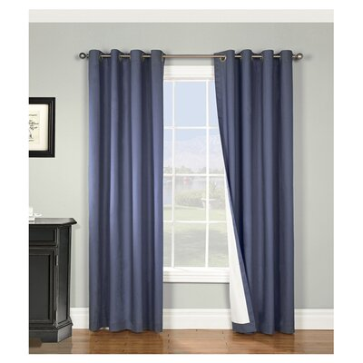 <strong>Thermalogic</strong> Nantucket Cotton Grommet Window Curtain Single Panel