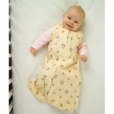 HALO Innovations, Inc. 100% Organic Cotton SleepSack™ Wearable Blanket in Yellow with Tea Cup ...