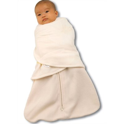 HALO Innovations, Inc. Fleece SleepSack™ Swaddle Wearable Blanket in Cream