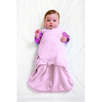 HALO Innovations, Inc. Microfleece SleepSack Swaddle in Pink (Small)