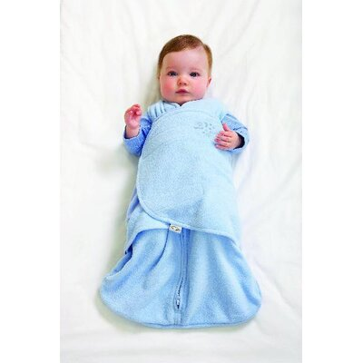 HALO Innovations, Inc. Microfleece SleepSack Swaddle in Blue (Small)