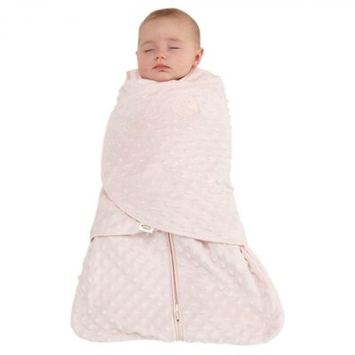 HALO Innovations, Inc. SleepSack Swaddle, Velboa Plush Dots