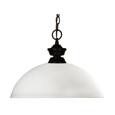 Chance 1 Light Billiard Pendant