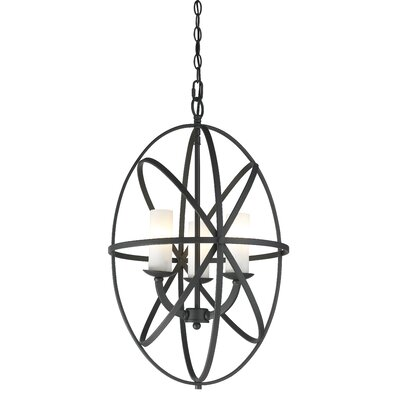 Aranya 3 Light Foyer Pendant