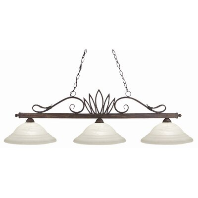 Z-Lite Crown 3 Light Pendant