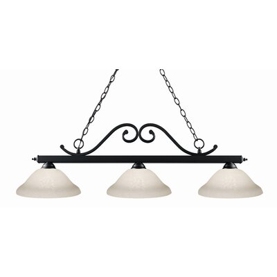 Z-Lite Windsor 3 Light Billiard Pendant