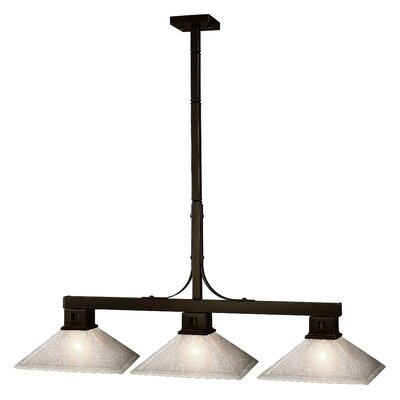 Z-Lite Flatwater 3 Light Pendant