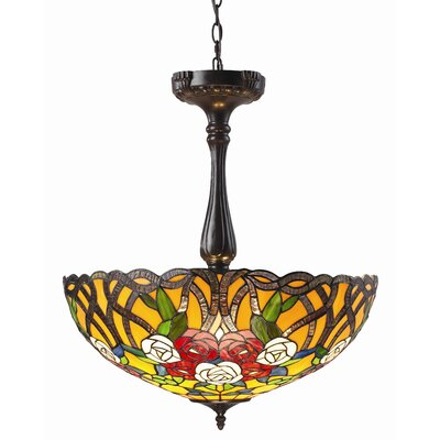 Z-Lite Rosa 3 Light Inverted Pendant