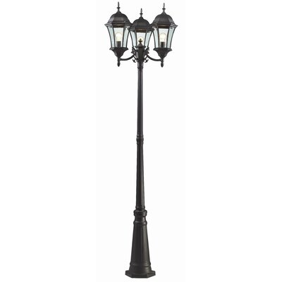 "Z-Lite Wakefield 3 Light 90"" Outdoor Post Lantern Set"