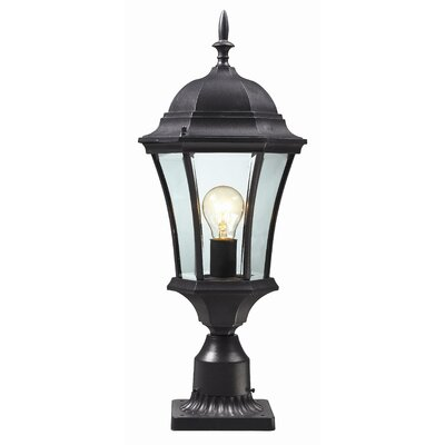 "Z-Lite Wakefield 1 Light 22"" Outdoor Post Lantern"