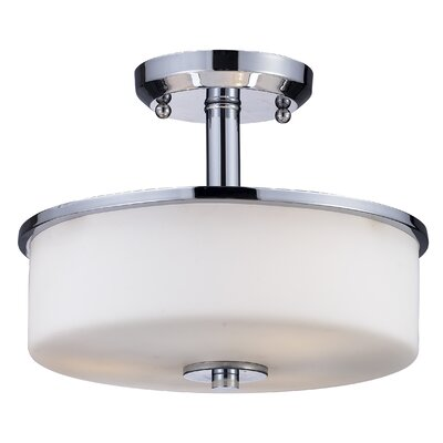 Z-Lite Ibis 3 Light Semi Flush Mount