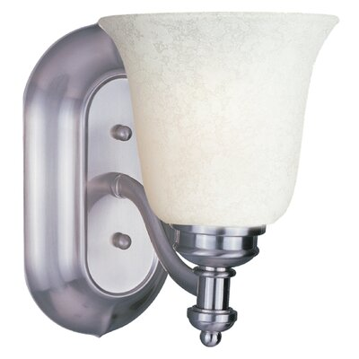 Z-Lite Hollywood 1 Light Wall Sconce with Glass Shade