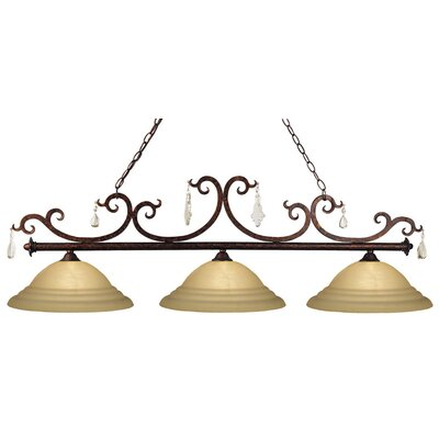 Z-Lite Santa Maria 3 Light Kitchen Island Pendant