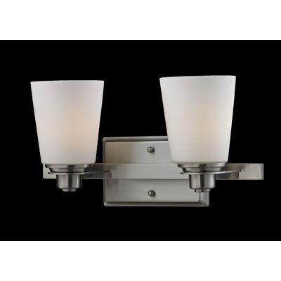 Z-Lite Nile 2 Light Bathroom Vanity Light