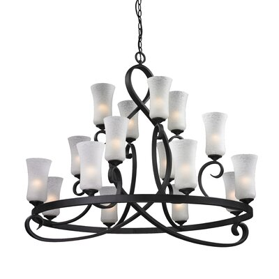 Z-Lite Arshe 16 Light Chandelier