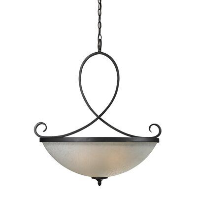Z-Lite Arshe 3 Light Inverted Pendant