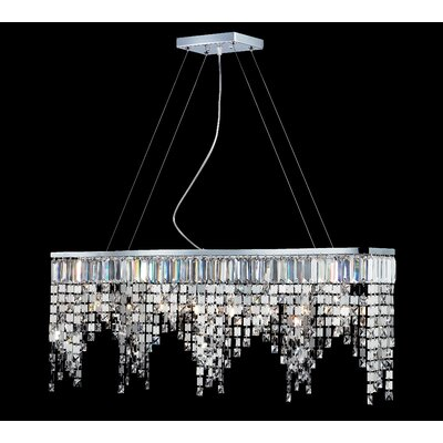 Z-Lite Nyssa 8 Light Crystal Chandelier