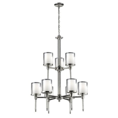 Z-Lite Argenta 9 Light Chandelier
