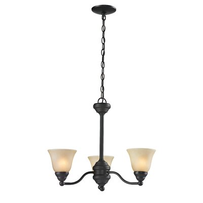 Athena 3 Light Chandelier