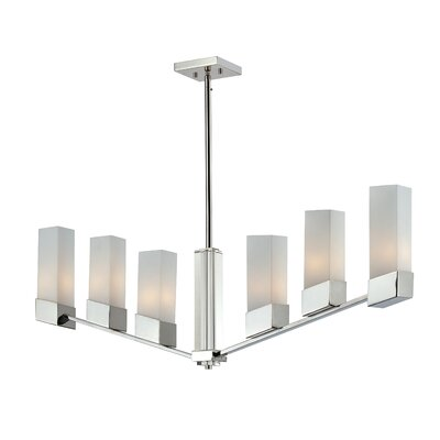Z-Lite Zen 6 light Kitchen Pendant Lighting