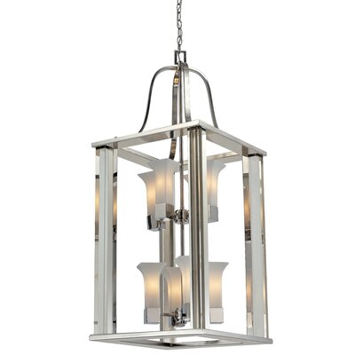 Z-Lite Lotus 8 Light Foyer Pendant