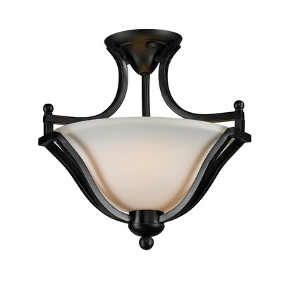 Z-Lite Lagoon 2 Light Semi-Flush Mount