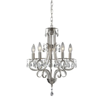 Z-Lite Pearl 5 Light Chandelier